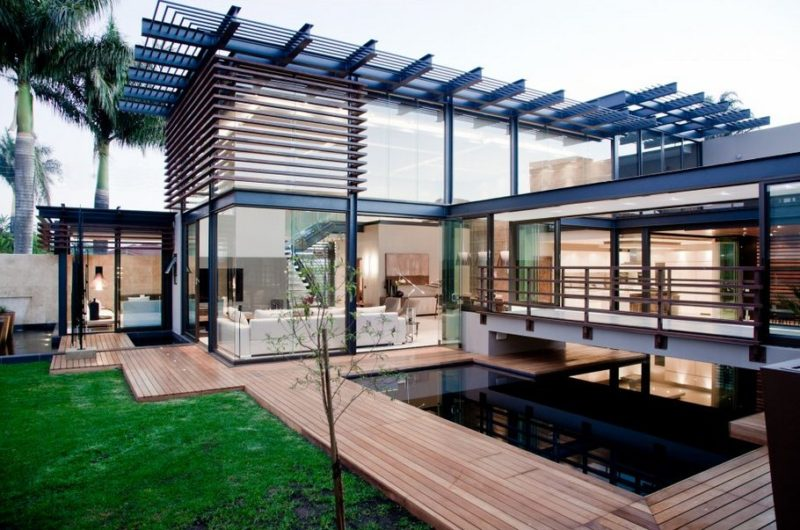 aboo makhado a superb contemporary residence in south africa. Black Bedroom Furniture Sets. Home Design Ideas