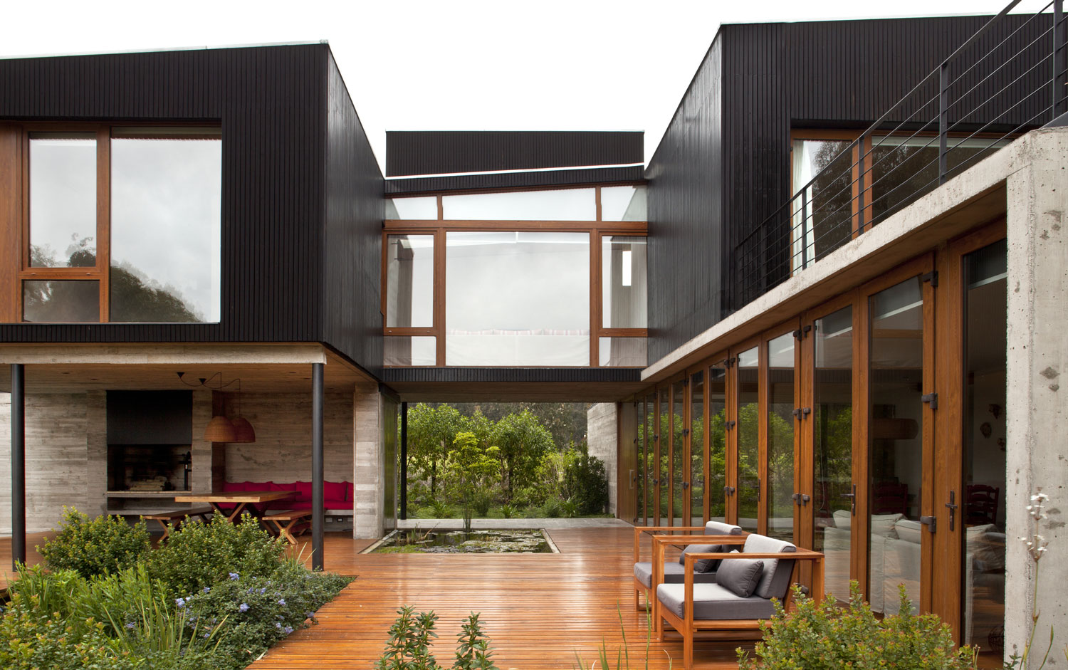 rock house with black painted wood rh myfancyhouse com